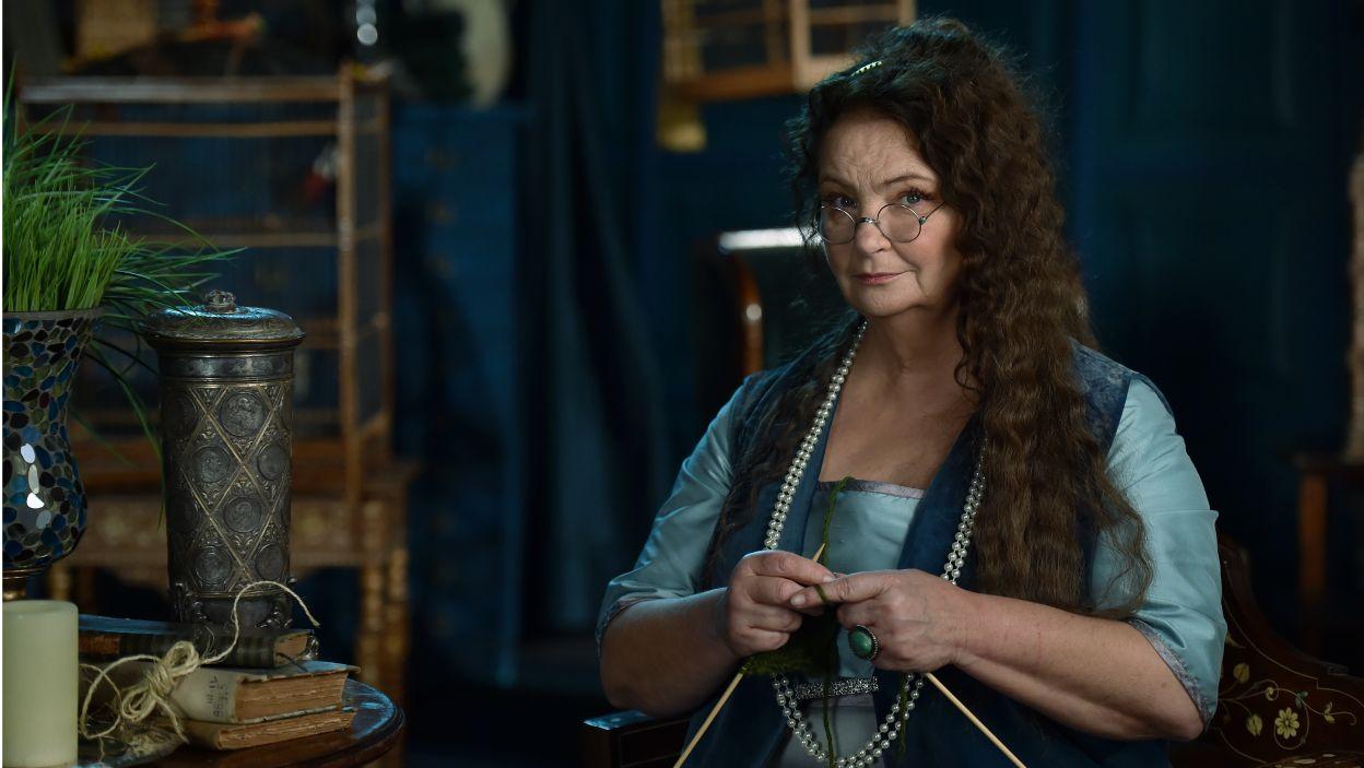 Natomiast Anna Dymna wystąpiła w roli Pani Jowialskiej (fot. I. Sobieszczuk/TVP)