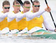 Australijczycy popłyną w finale konkurencji K4 na 1000 metrów (fot. Getty Images)