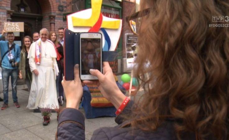 Akcja ewangelizacji na ulicach Torunia