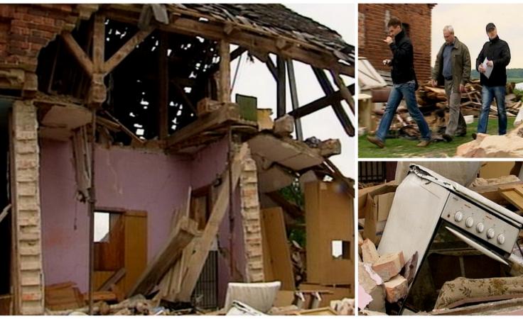 9-osobowa rodzina po wybuchu gazu nadal bez dachu nad głową