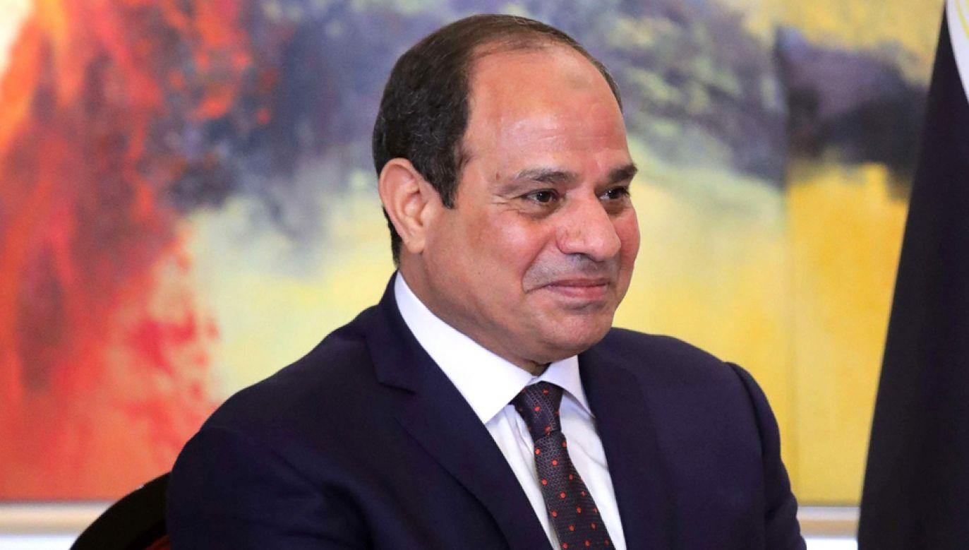 Prezydent Egiptu Abd el Fatah es-Sisi będzie kandydował na drugą kadencję w wyborach (Official Internet Resources of the President of Russia)