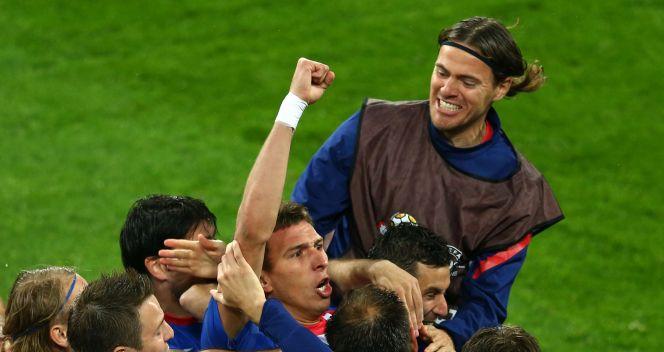 Szał radości bałkańskich piłkarzy (fot. Getty)
