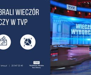 Polacy wybrali wieczór wyborczy w TVP!
