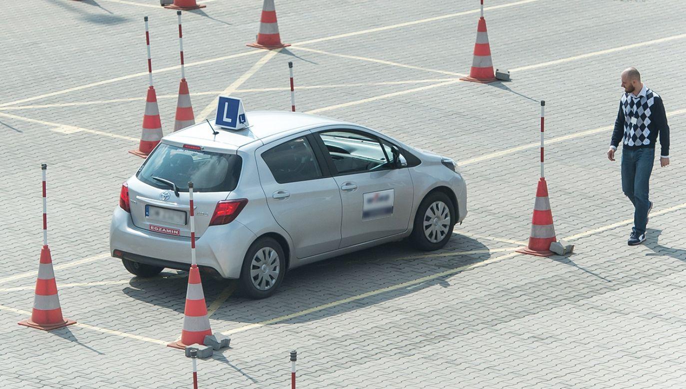 Kursanci często podchodzą do egzaminów nieprzygotowani (fot. arch. PAP/Maciej Kulczyński)
