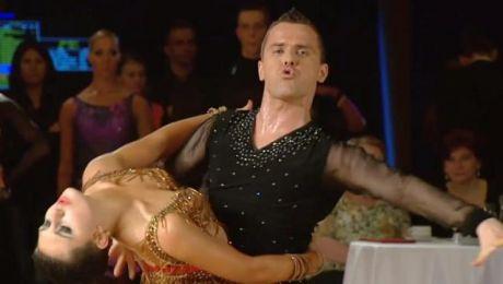 Joanna Szumkowska i Konstanty Kolesiński z Warszawy tańczą od 15 lat.