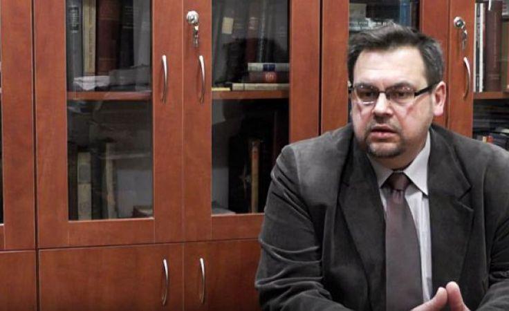 historyk dr hab. Henryk Głębocki. Fot. TVP Info