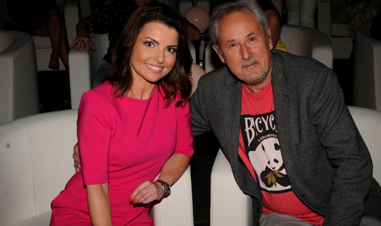 Beata Chmielowska-Olech i Piotr Skarga zmagali się m.in. z pytaniem, gdzie oprócz Białowieży można spotkać żubry (fot. TVP/N. Młudzik)