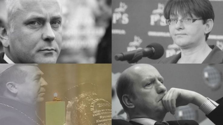 Z Warmią i Mazurami związani byli: Aleksander Szczygło, Grażyna Gęsicka, bp Tadeusz Płoski oraz Maciej Płażyński