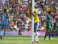 Król strzelców turnieju, Leandro Damiao, w finale nie błyszczał (fot. Getty Images)