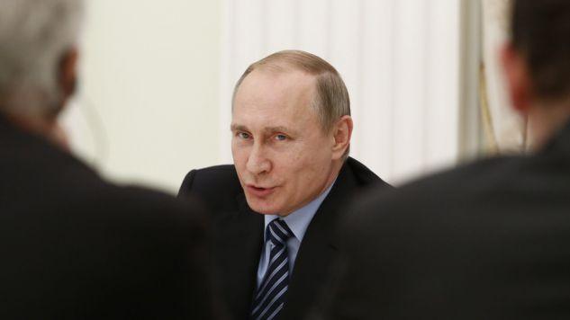 Władimir Putin liczy na poprawę stanu rosyjskiej gospodarki (fot. PAP/EPA/SERGEI KARPUKHIN)