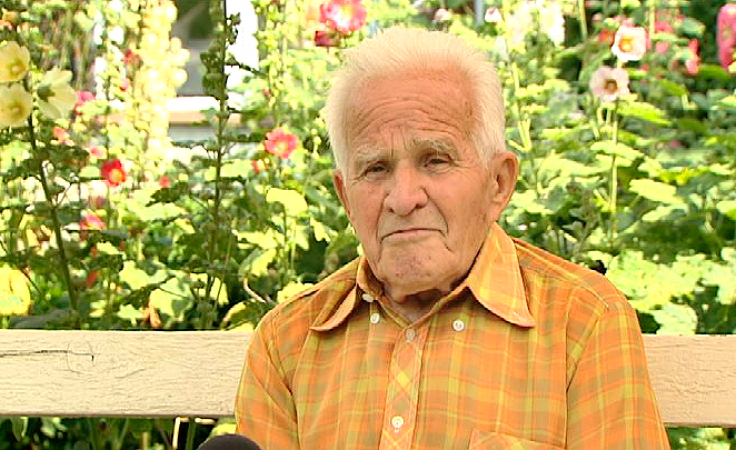 Prof. Henryk Słowiński (fot. TVP3 Wrocław)