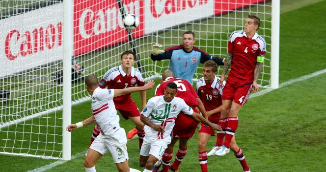Pepe strzela pierwszego gola w meczu (fot. Getty Images)