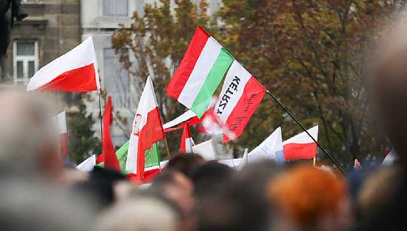 Świętujemy Dzień Przyjaźni Polsko-Węgierskiej (fot. KPRP/Krzysztof Sitkowski)