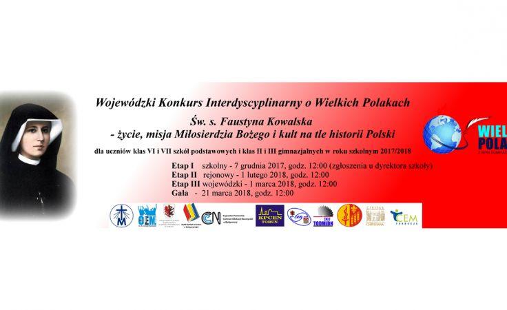 Wojewódzki Konkurs Interdyscyplinarny o Wielkich Polakach
