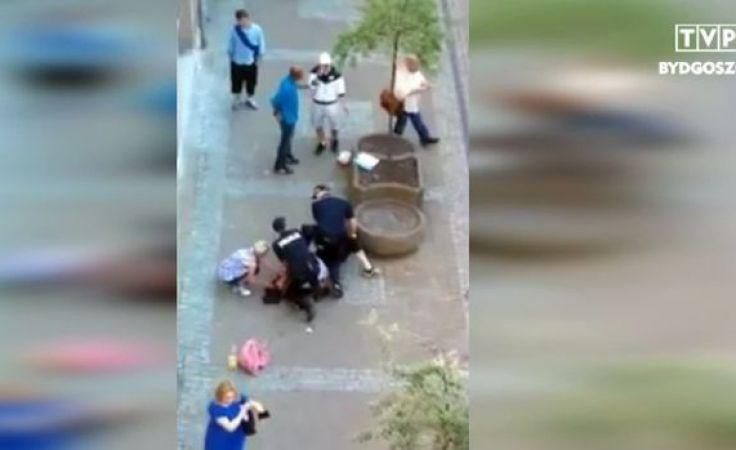 Kontrowersyjna interwencja policji