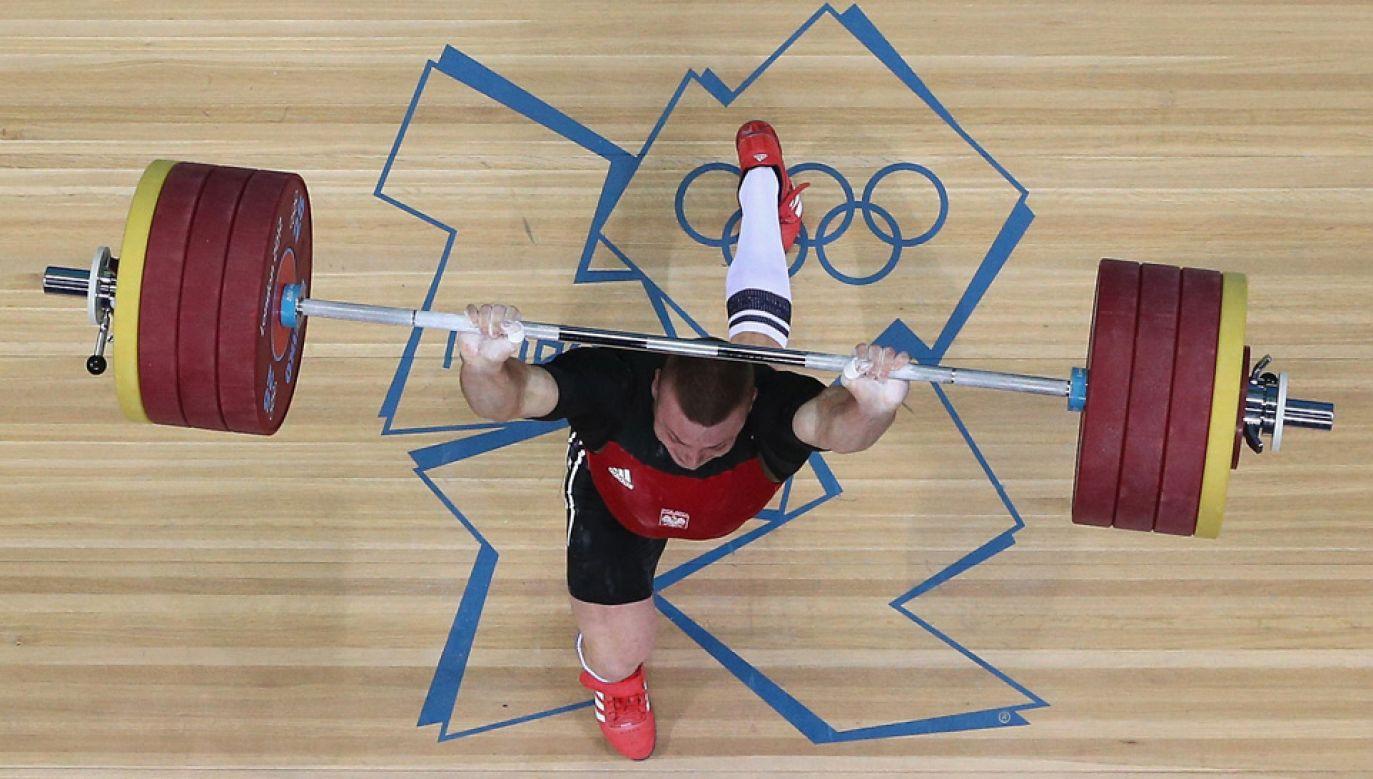 Adrian Zieliński liczy na start w igrzyskach w Tokio w 2020 roku (fot. Rob Carr/Getty Images)