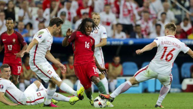 Ćwierćfinałowy mecz Euro 2016 Polski z Portugalią (fot. PAP/EPA/MIGUEL A. LOPES)