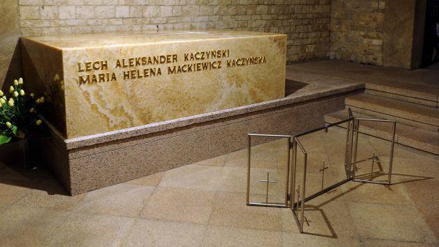 Sarkofag pary prezydenckiej (fot. Reuters Pictures/POOL New)