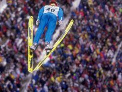 Robert Mateja zajął 20. miejsce na skoczni normalnej, a na dużym obiekcie był 20. (fot. Getty Images)