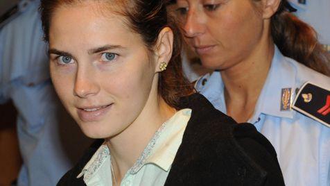 Amanda Fox została uniewinniona z zarzutu zabójstwa (fot. PAP/EPA/PIETRO CROCCHIONI)