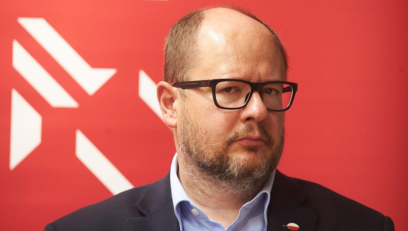 Prezydent Gdańska Paweł Adamowicz (fot. arch. PAP/Dominik Kulaszewicz)