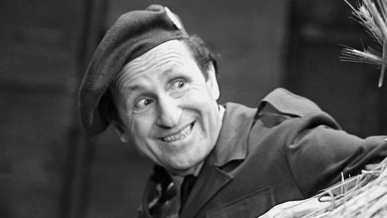Aktor zadebiutował na telewizyjnej scenie w latach 50.; chętnie obsadzano go w rolach komediowych... (fot. TVP)