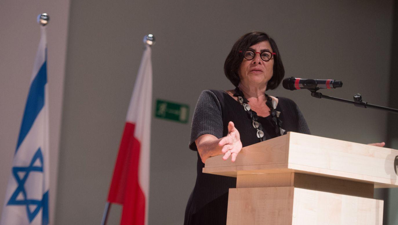 Ambasador Izraela w Polsce Anna Azari (fot. arch. PAP/ Grzegorz Michałowski)