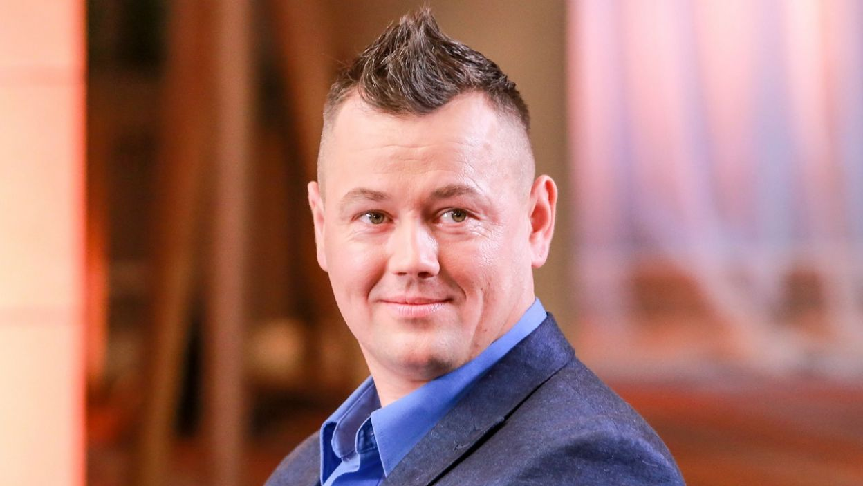 Piotr zaczął od wspaniałej wiadomości... (Fot. TVP)