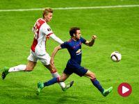 Liga Europejska, finał: Ajax Amsterdam – Manchester United (skrót)