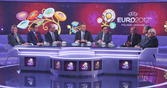 TVP zaprezentowała główne studio na Euro 2012 (fot. Jan Bogacz/TVP)