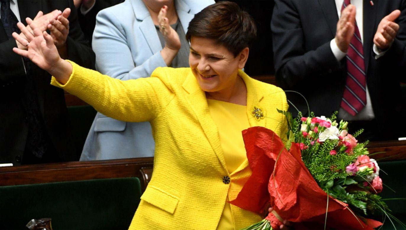 Sejm odrzucił wniosek PO o wotum nieufności wobec rządu Beaty Szydło (fot. PAP/Bartłomiej Zborowski)