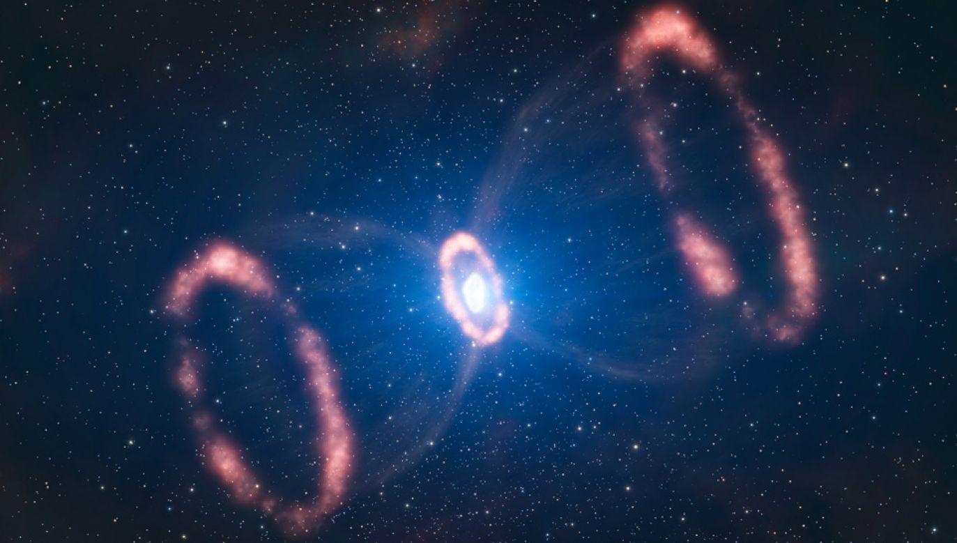 Zamiast gasnąć, supernowa typu II-P zaczęła ponownie jaśnieć (fot. ESO/L. Calçada)