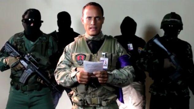 Napastnik, który ostrzelał z helikoptera budynek Sądu Najwyższego w stolicy Wenezueli to aktor kina akcji Oscar Perez (fot. instagram/oscarperez)