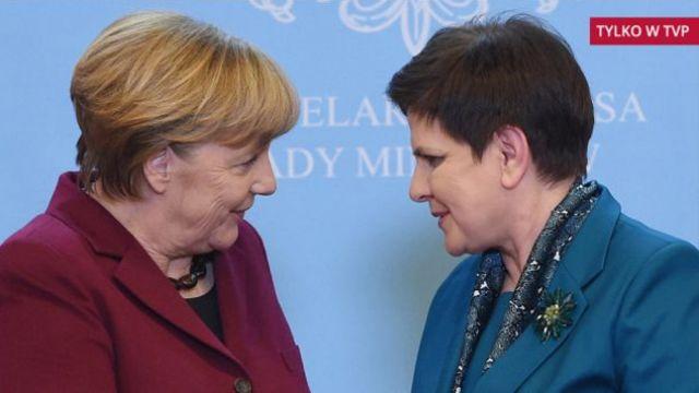 Wybory we Francji, Brexit, migranci. W niedzielę spotkanie Szydło-Merkel