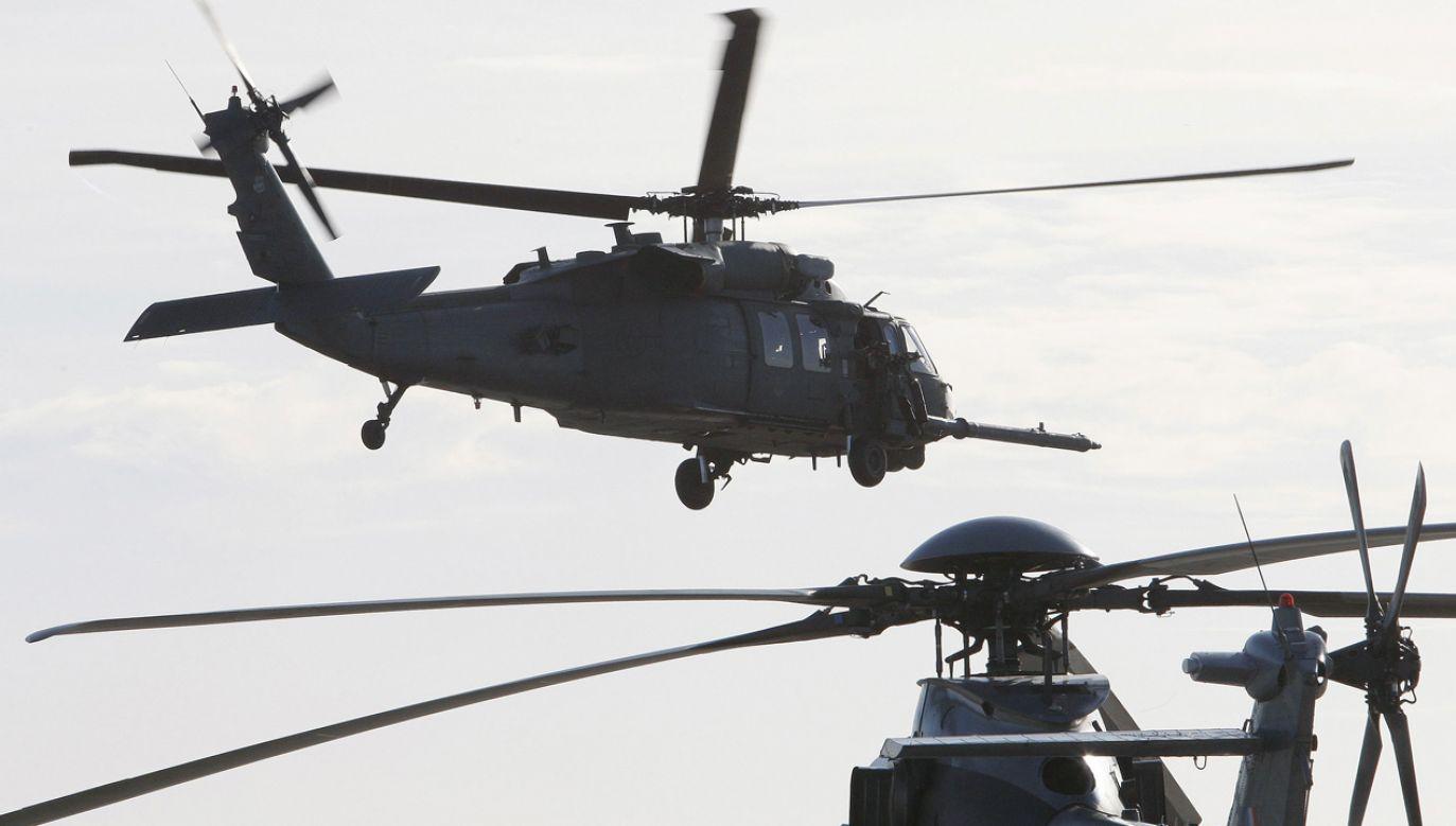 Amerykański śmigłowiec HH-60 Pave Hawk (fot. REUTERS/Regis Duvignau)