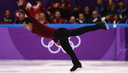 Łyżwiarstwo figurowe: świetny występ Kanadyjczyka w programie dowolnym