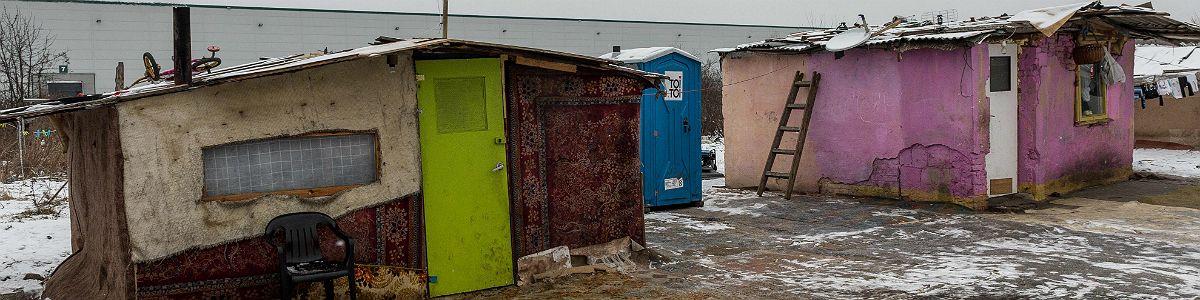 W romskim gettcie