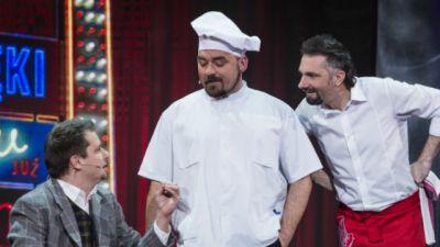 Taka to robota czyli kabaretowy przegląd zawodów: Kelner i kucharz