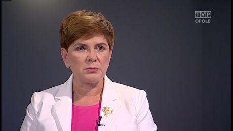 Rozmowa z Beatą Szydło - 26 lipca 2015