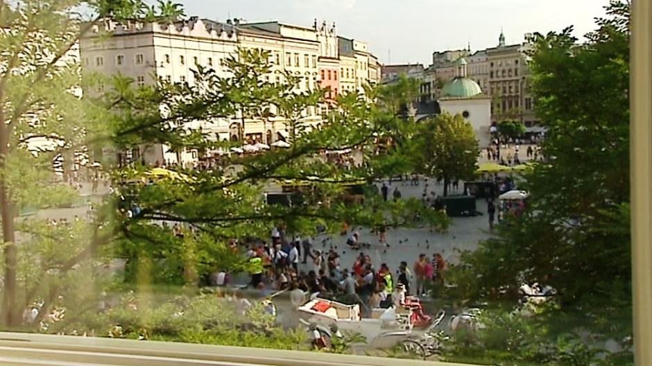 Akcja filmu  rozgrywa się w Krakowie (fot. TVP3 Kraków)