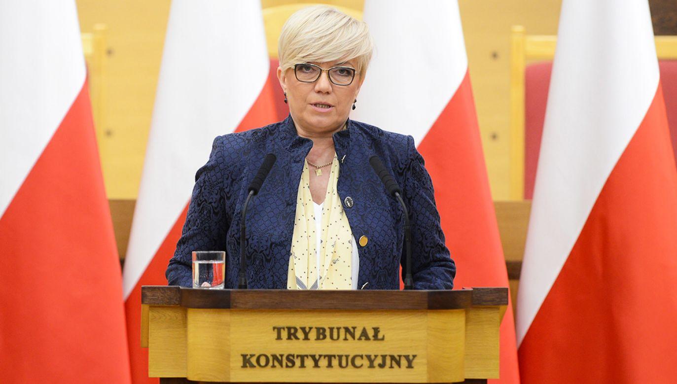 Prezes TK Julia Przyłębska (fot. arch.PAP/Jakub Kamiński)