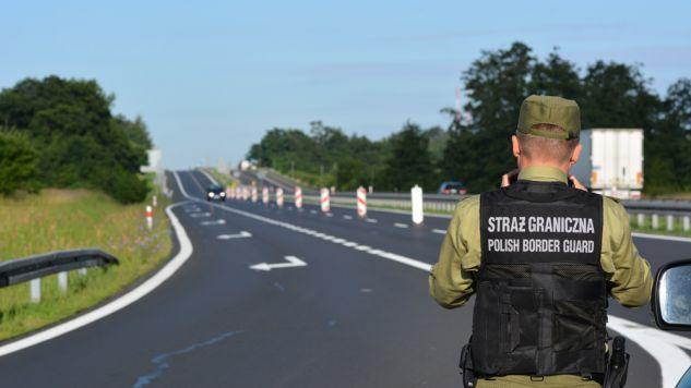 Od 4 lipca przywrócone zostały tymczasowe kontrole na polskich granicach (fot. flickr.com/MSWiA)