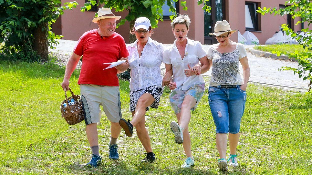 Jak do pracy to tylko tanecznym krokiem (fot. TVP)