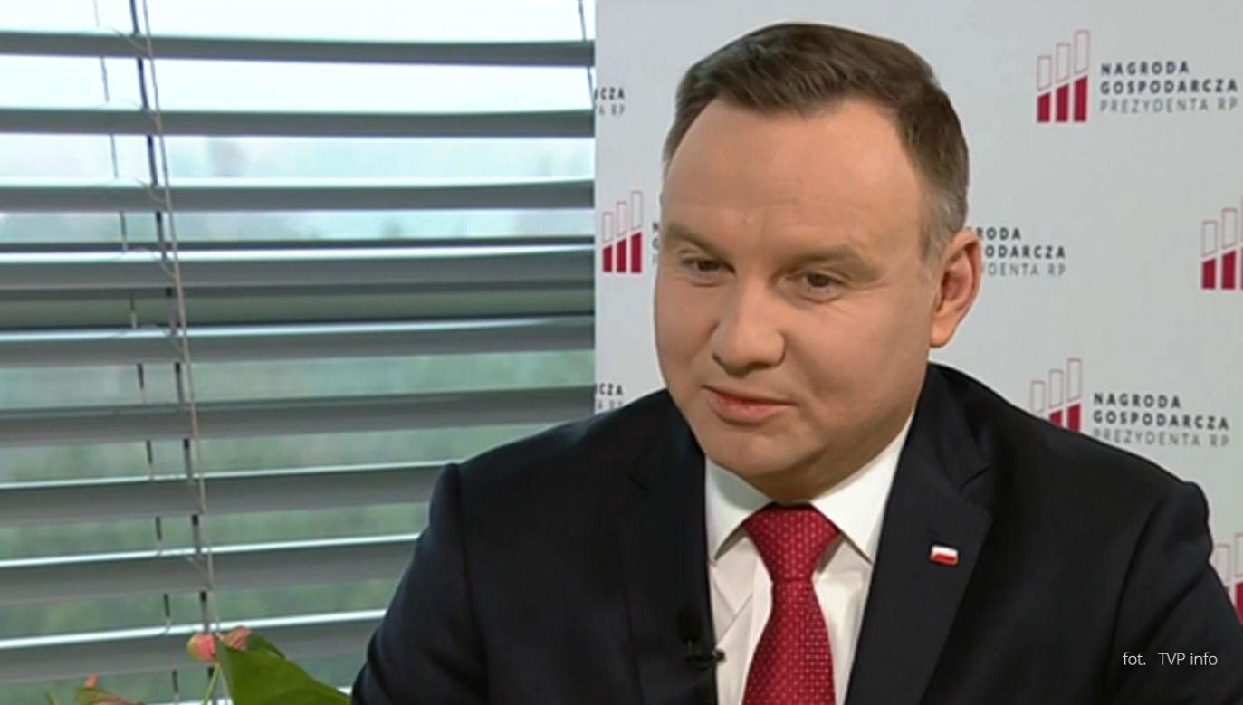 Prezydent Andrzej Duda (fot. TVP ifo)