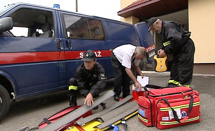 Sprzęt ratownictwa medycznego dla OSP z gminy Fredropol