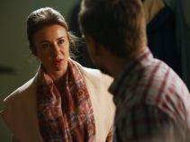 Marta, ale powiedz mi szczerze - czy ty się odchudzasz?! – Krzysiek podejrzewa narzeczoną o wyrzucenie kotletów (fot. TVP)