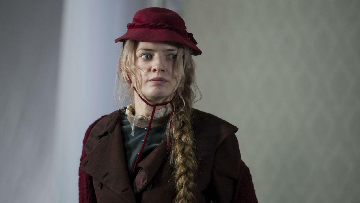 W roli Władki, czyli tytułowej Aszantki, wystąpiła Paulina Gałązka (fot. Jan Bogacz/TVP)