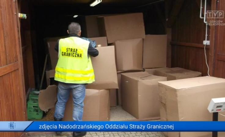 Sukces Straży Granicznej. Znaleźli 2 tys. sztuk papierosów bez akcyzy