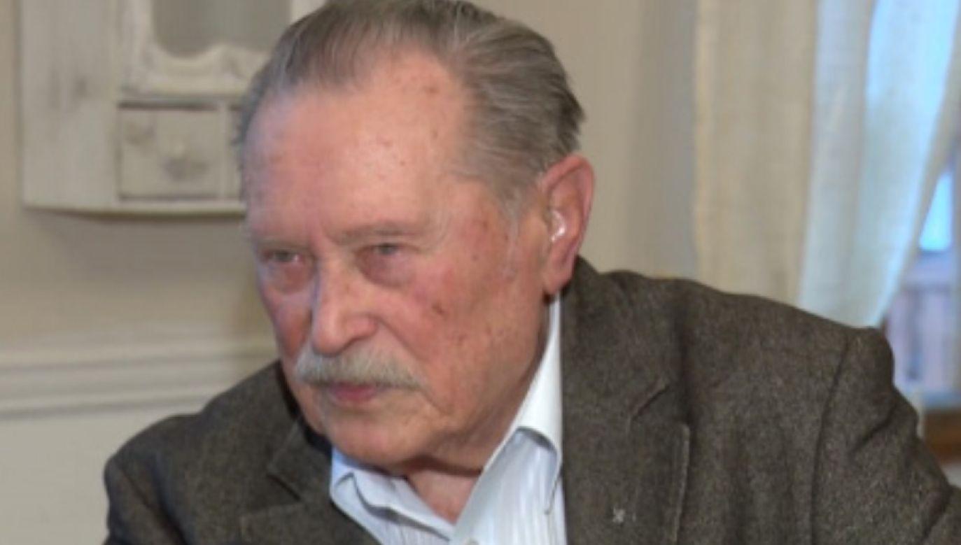 Emil Karewicz udzielił wywiadu pierwszy raz od kilku lat (fot. TVP Info)