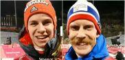 Wellinger i Johansson gratulują Stochowi... po polsku [wideo]
